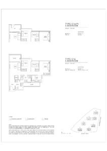 Jadescape floor plans Singapore C1a