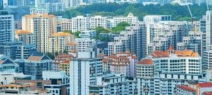 """""""A home is a big ticket item and it's for the well-being of Singaporeans that some of the measures are there,"""" said Mr Lee."""
